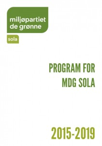 Program for MDG Sola